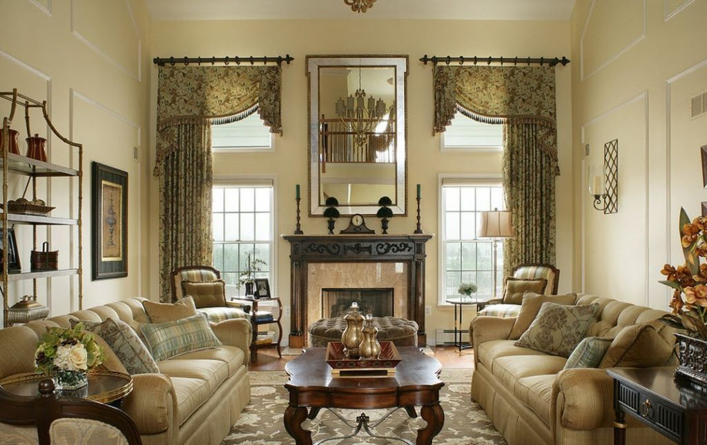 Викторианский стиль в дизайне интерьера комнаты