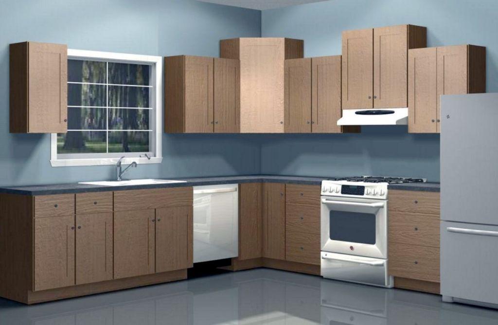 На какой высоте вешать кухонные шкафы и как правильно
