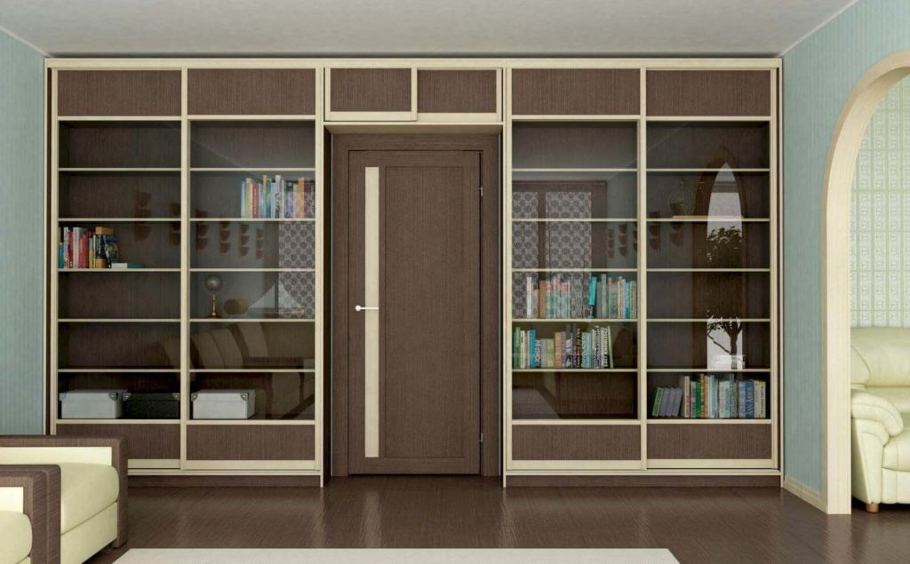 К недостаткам такой конструкции шкафа будет невозможность его перемещения на другое место