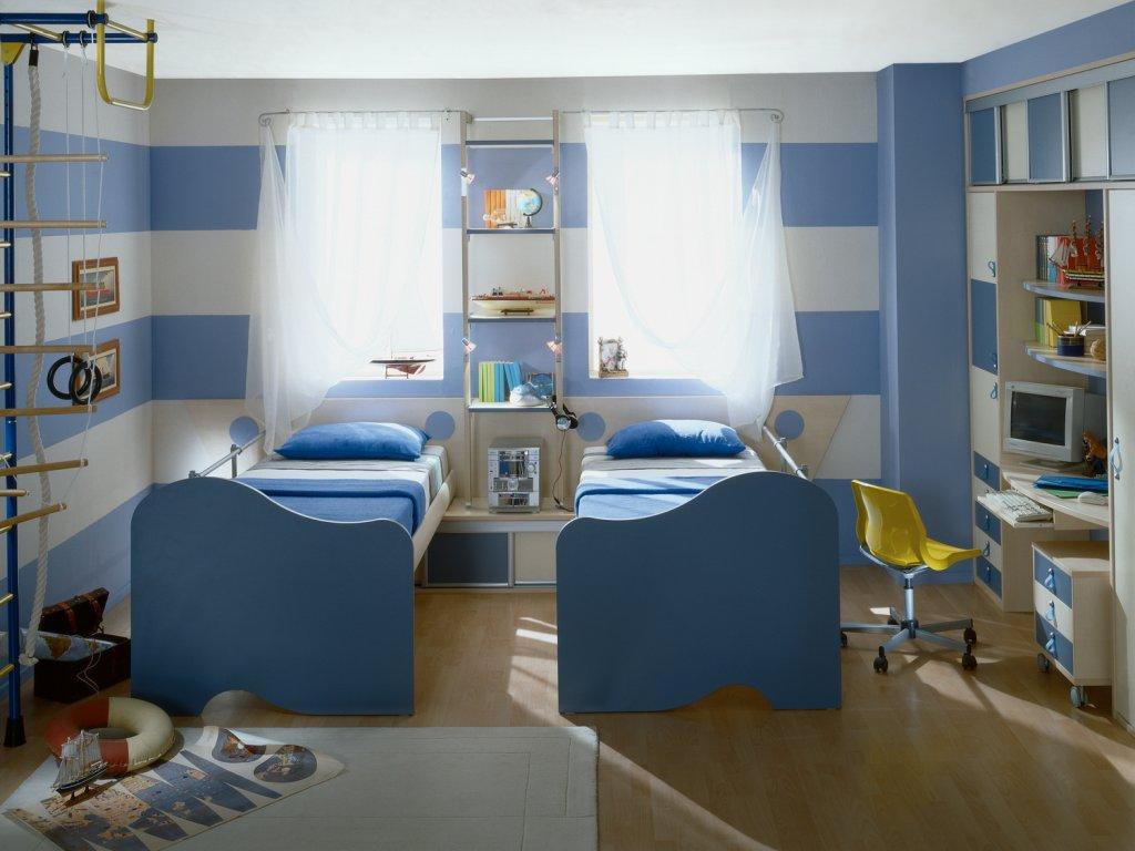 Комнаты для двоих детей — это комплекты мебели, предназначенные для использования двумя детьми