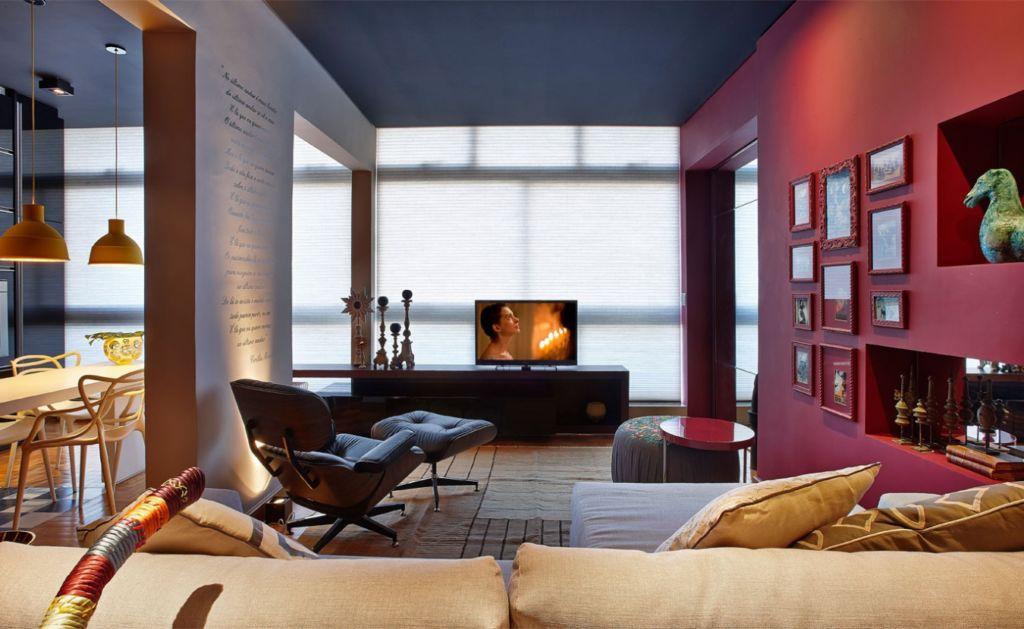 Комбинация нескольких цветов также является прекрасным инструментом визуального зонирования пространства