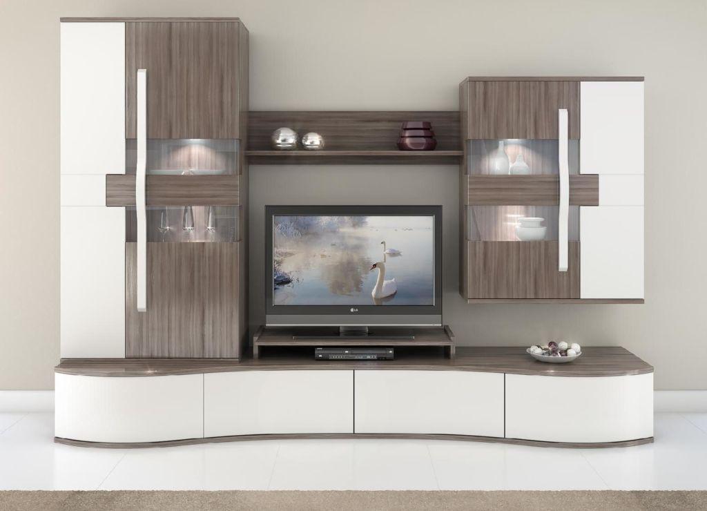 Современные стенки горки относятся к модульной мебели и изготавливаются под заказ в любом стиле