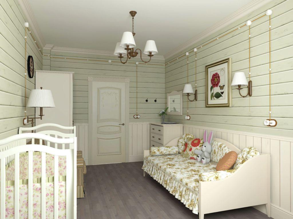 Детская комната, выполненная в стиле прованс, считается универсальным вариантом оформления интерьерного пространства