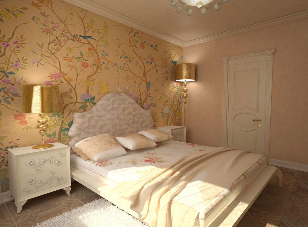 Оформление спальни в классическом стиле требует соблюдения установленных правил и канонов
