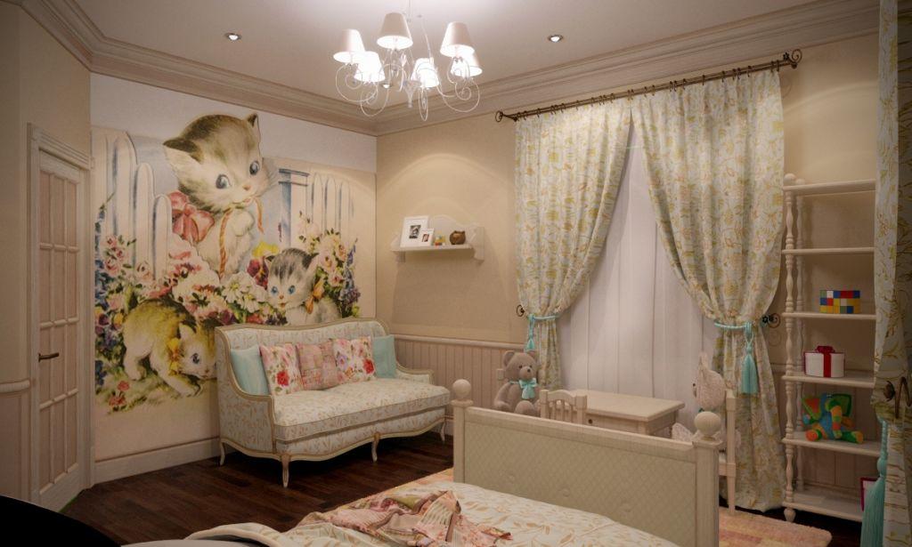 Идеальный вариант – белая мебель