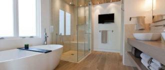 Подробная инструкция по монтажу ламината в ванной комнате