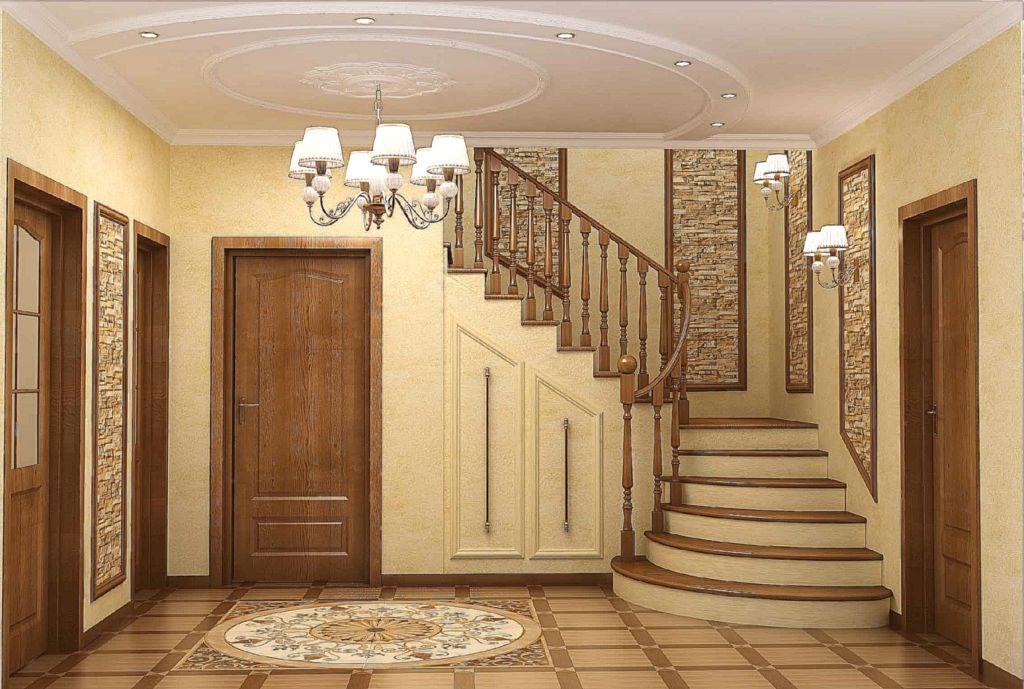 Дизайн и отделка коридора в частном доме