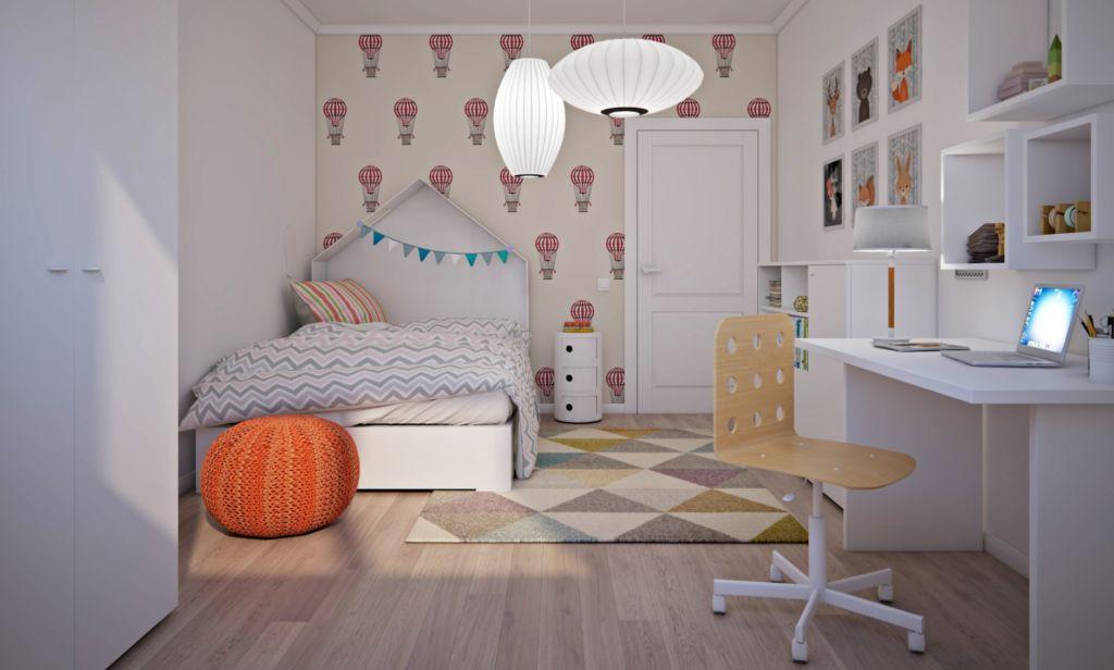 лавное правило — не перенасыщать комнату одним цветом и не делать её чересчур яркой