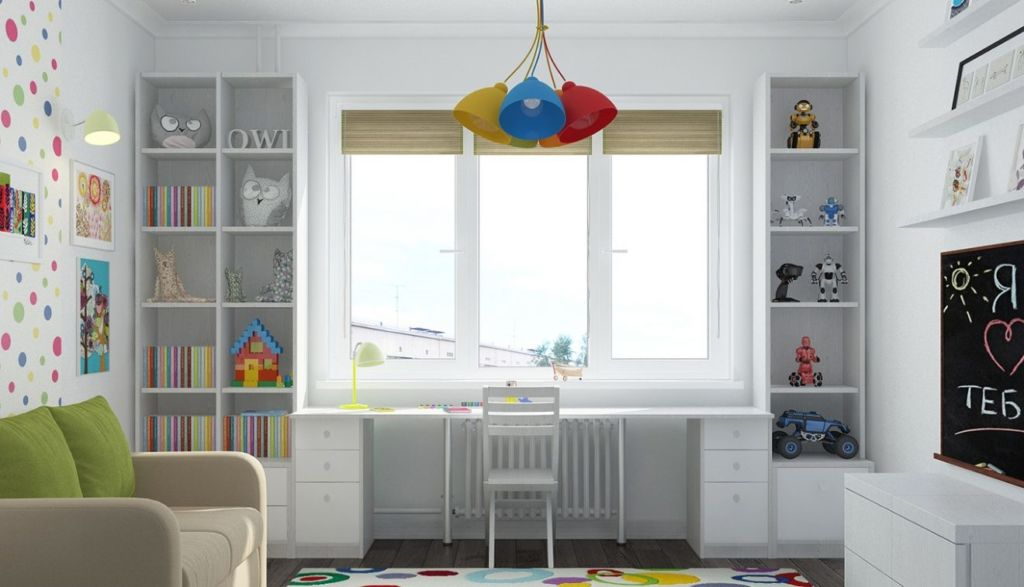 Освещение в детской комнате играет немаловажную роль при разработке ее дизайна