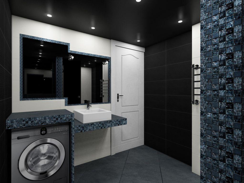Большие зеркала в ванной комнате смогут визуально увеличить комнату