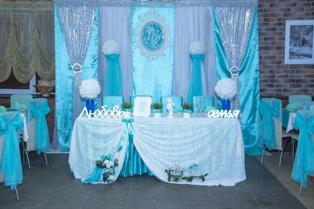 Оформление свадебного зала в средеземноморском стиле