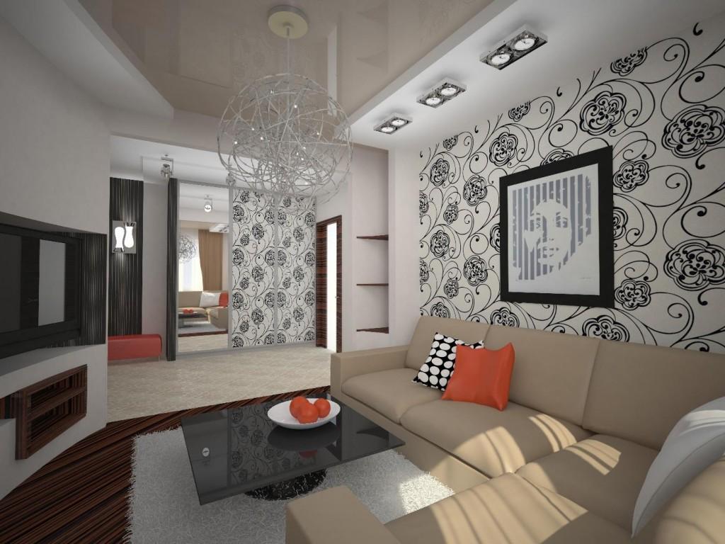 Грамотно выполненный зал квартире хрущевке позволит вам намного увеличить комфортность