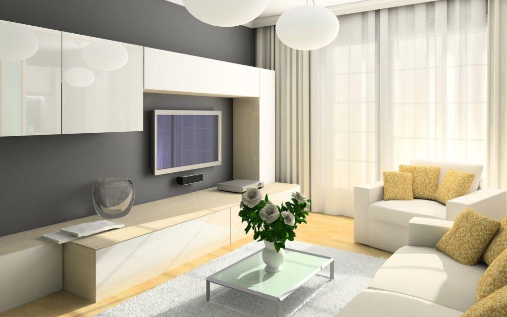 Дизайн интерьера маленькой комнаты отличается наполнением в виде компактной мебели с трансформацией