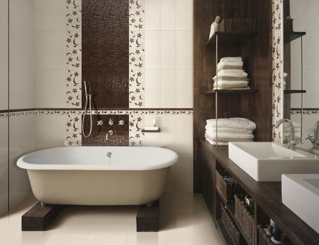 Дизайн ванной комнаты должен быть современным и удобным