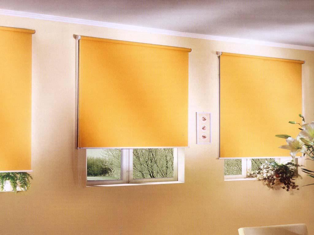 Цвет рулонных штор поможет вам создать интерьер в нужном стиле