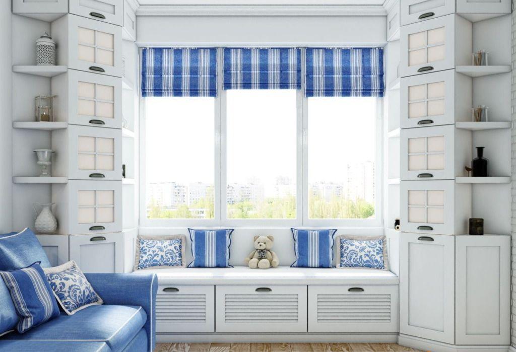Шкаф у окна должен гармонично вписываться в общий стиль вашего дома или отдельного помещения