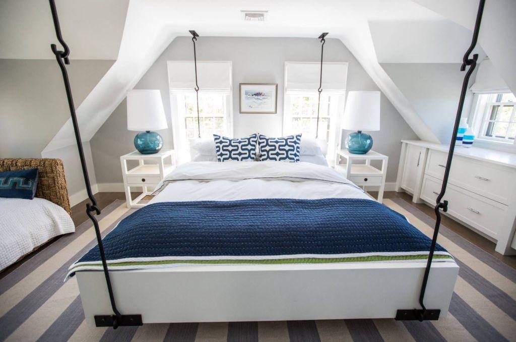 3 вида подвесных кроватей и стилистика помещения