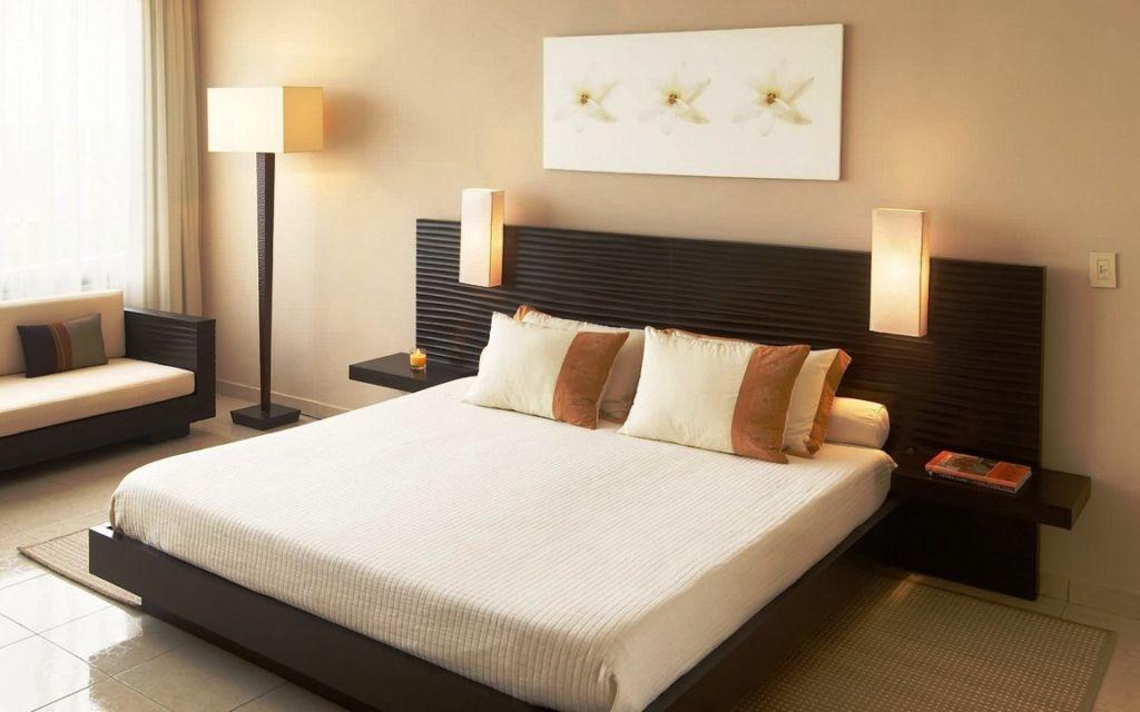 20 идей красивого оформления спальни в коричневых тонах