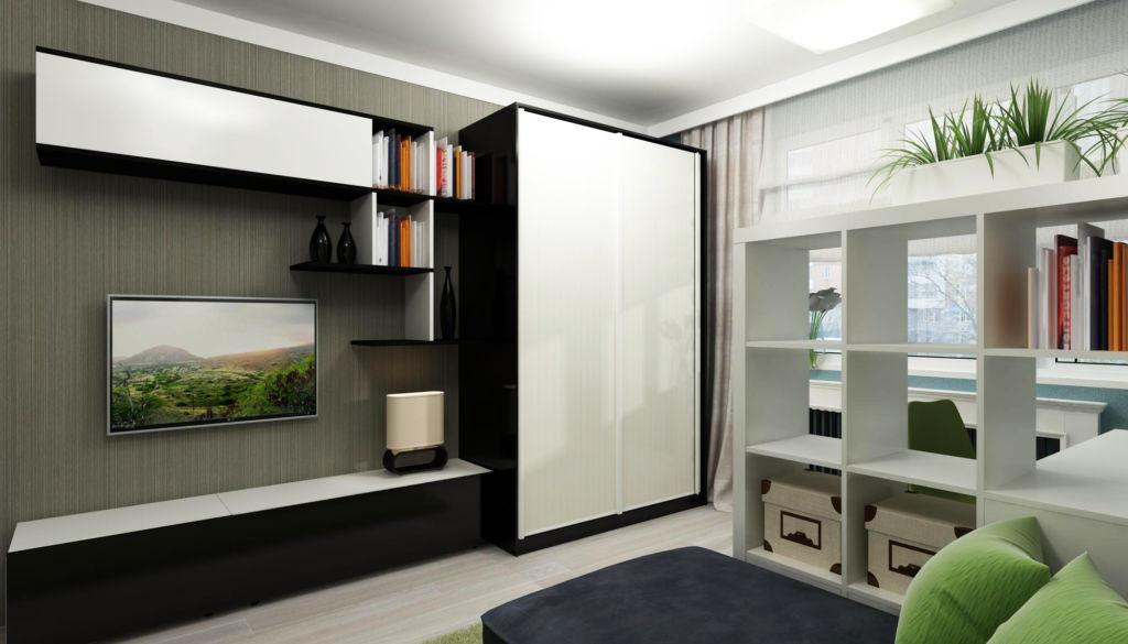 Даже в маленьких комнатах можно сделать интерьер уютным и комфортным