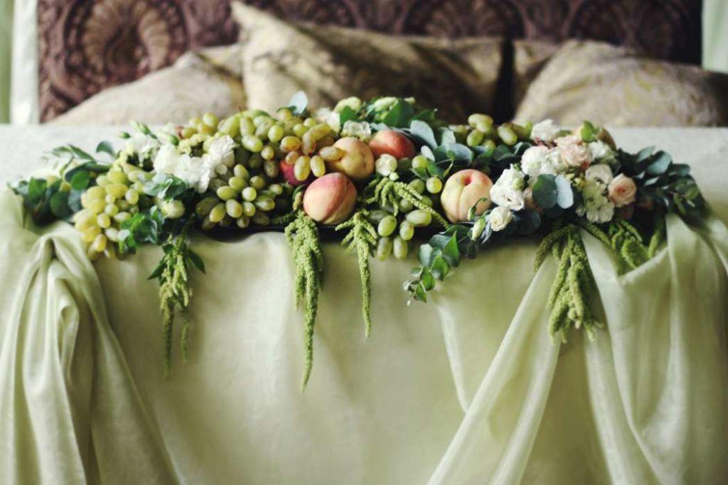 Флористика свадьбы в итальянском стиле