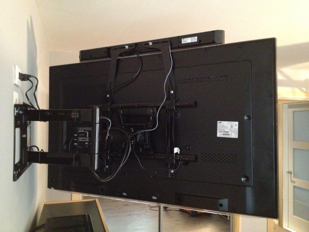 Для подвесного телевизора чаще всего используются кронштейны