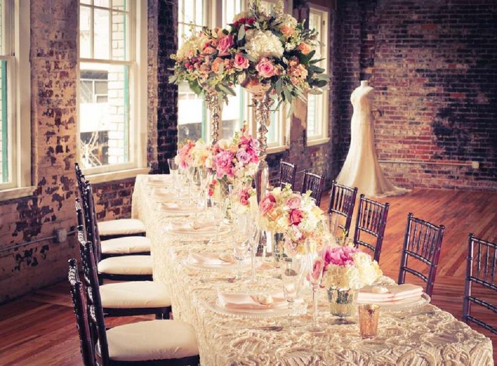 Винтажный стиль свадьбы