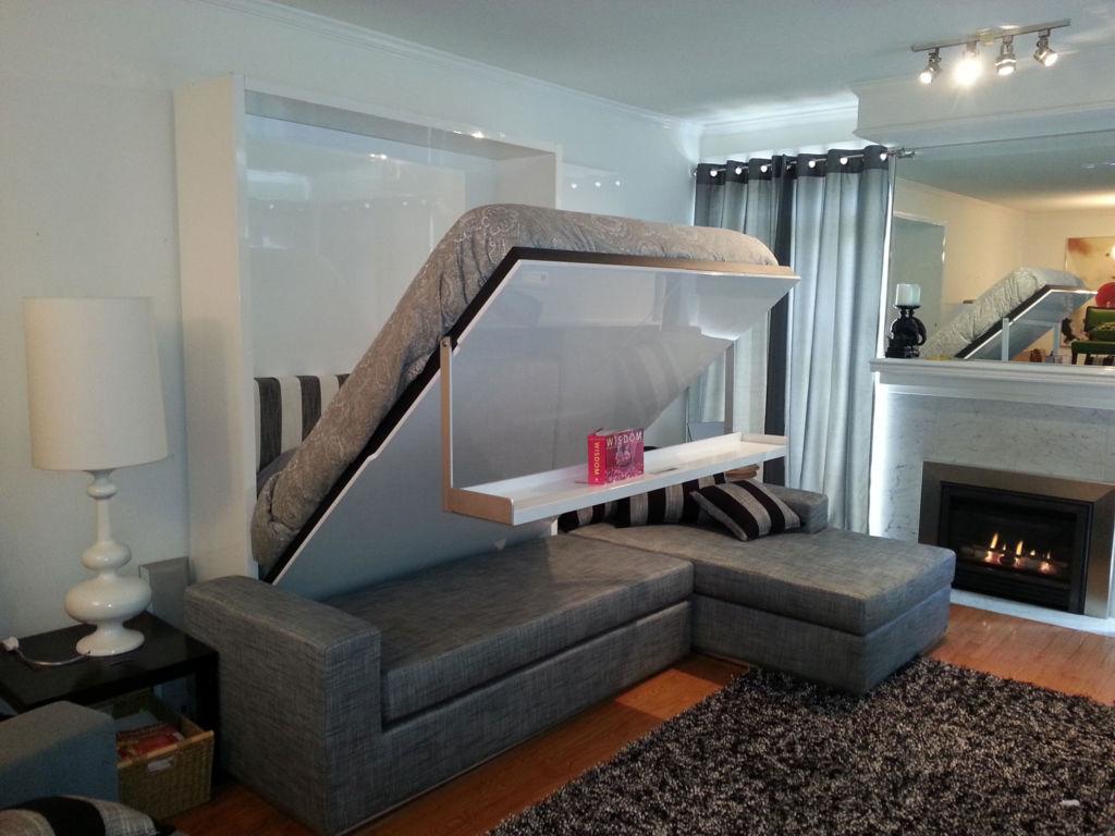 В малогабаритных залах следует использовать мебель трансформер