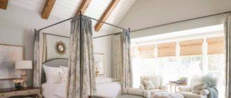 Как подобрать кровать с балдахином под дизайн спальни