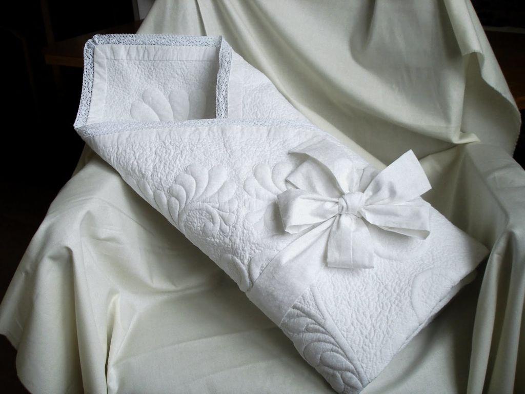 Детское одеяло на выписку из родильного дома
