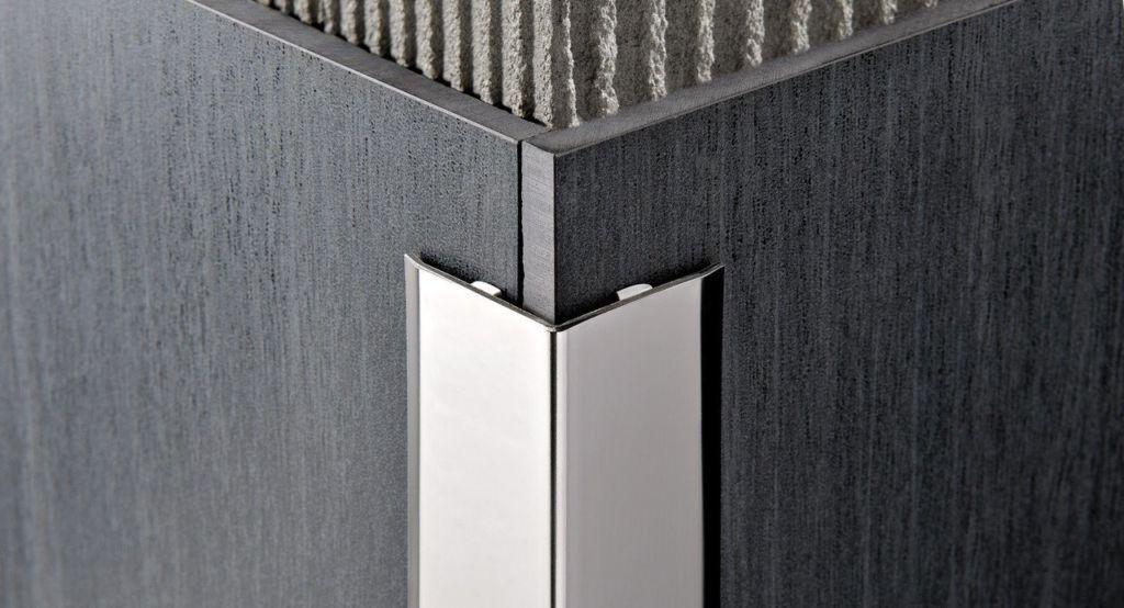 Декоративно отделочные уголки из алюминия и нержавеющей стали