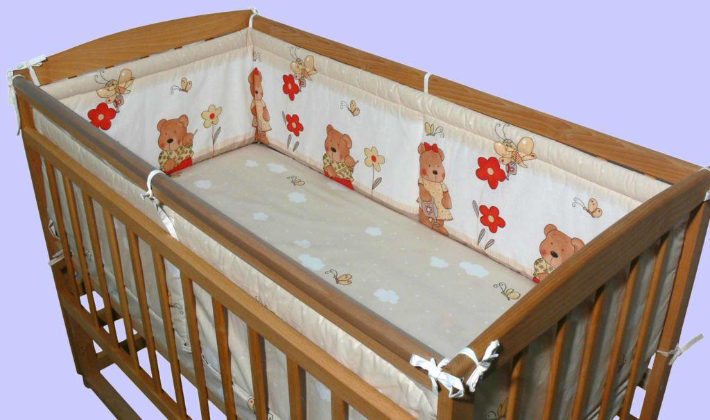 Подробная инструкция, как выбрать и сделать бортики кроватки для новорожденного