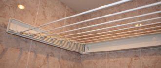 Как выбрать подходящую настенную сушилку для белья в ванную комнату