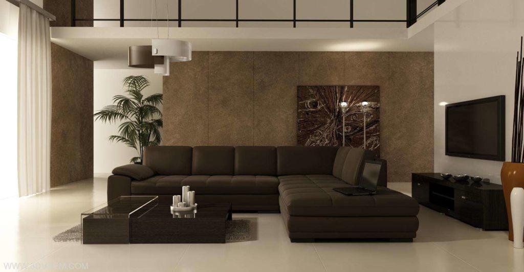 Для отделки стен, в стиле минимализм используются натуральные материалы или их качественные имитации