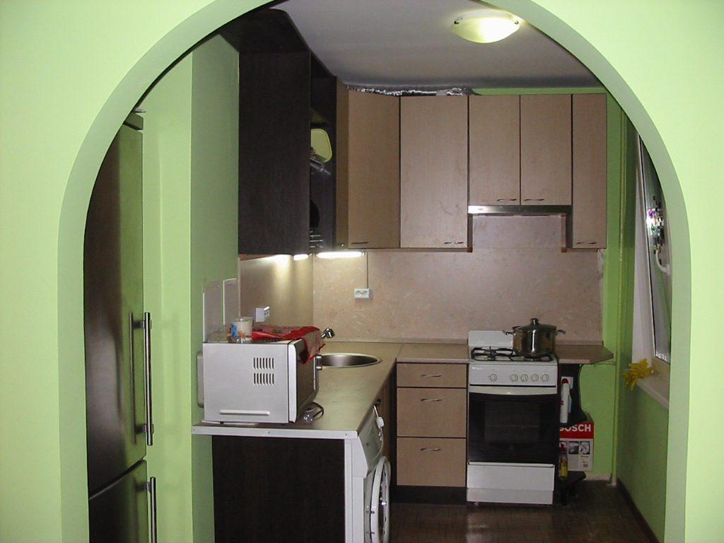 Арка - как элемент дизайна интерьера кухни в хрущевке
