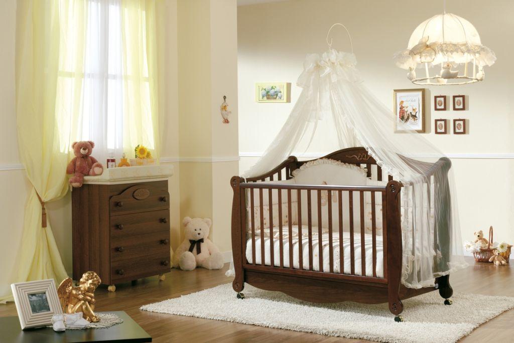 Балдахин над детской кроваткой своими руками