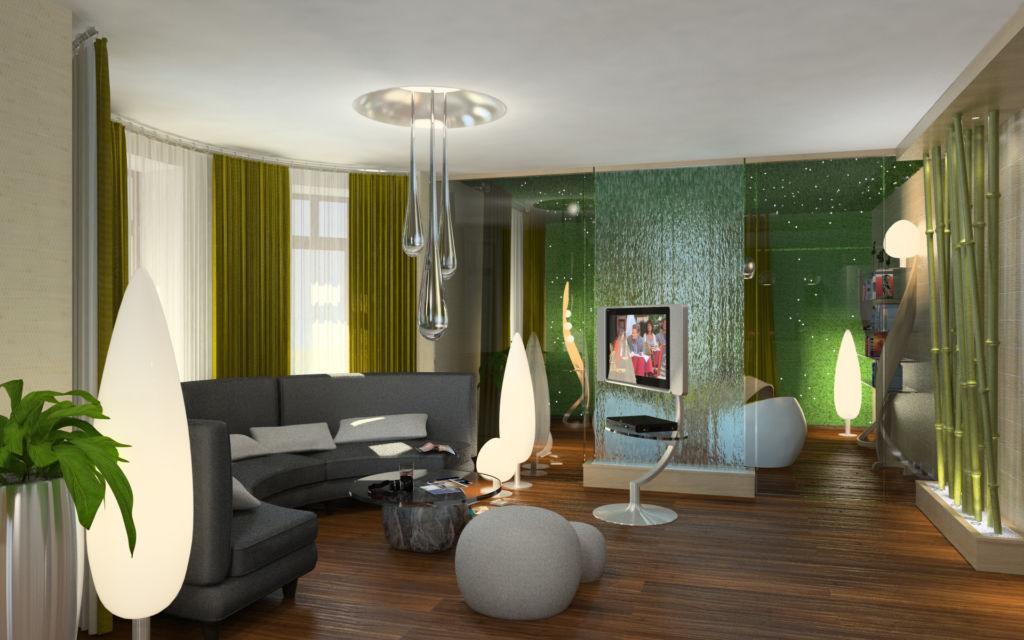 11 стилей для дизайна гостиной в частном доме