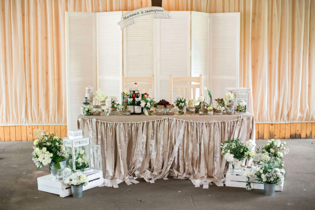 Декор свадьбы в стиле эко