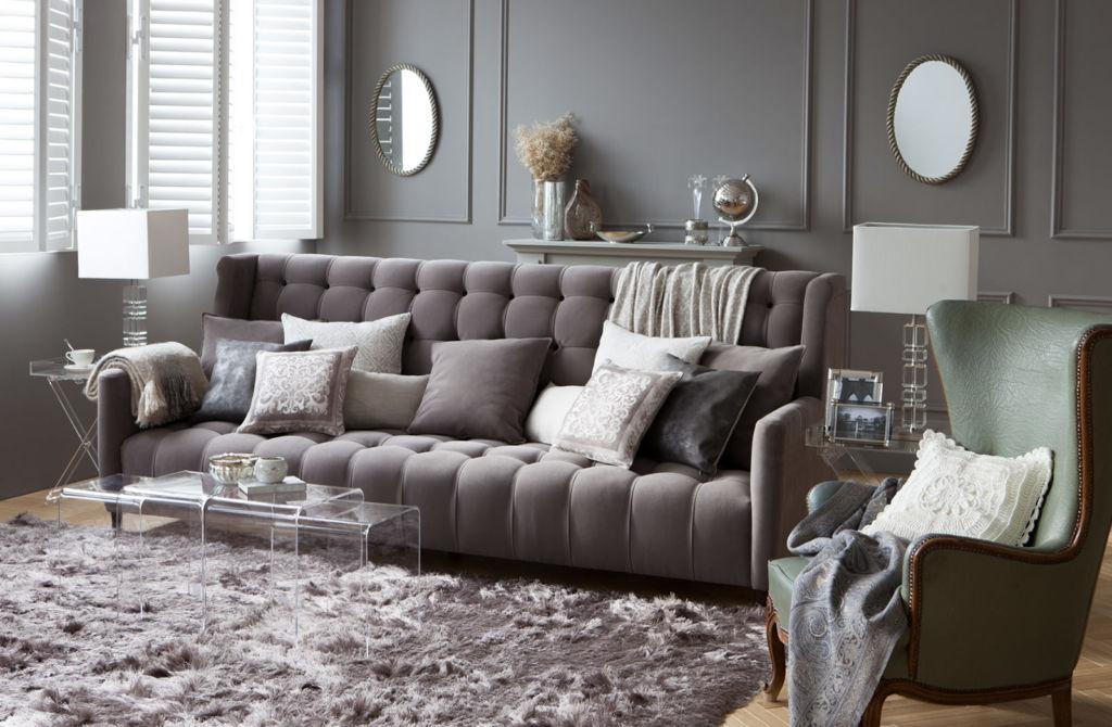 Чрезвычайно модна сегодня мебель в этих оттенках, которая не только элегантна, но и очень эффекная