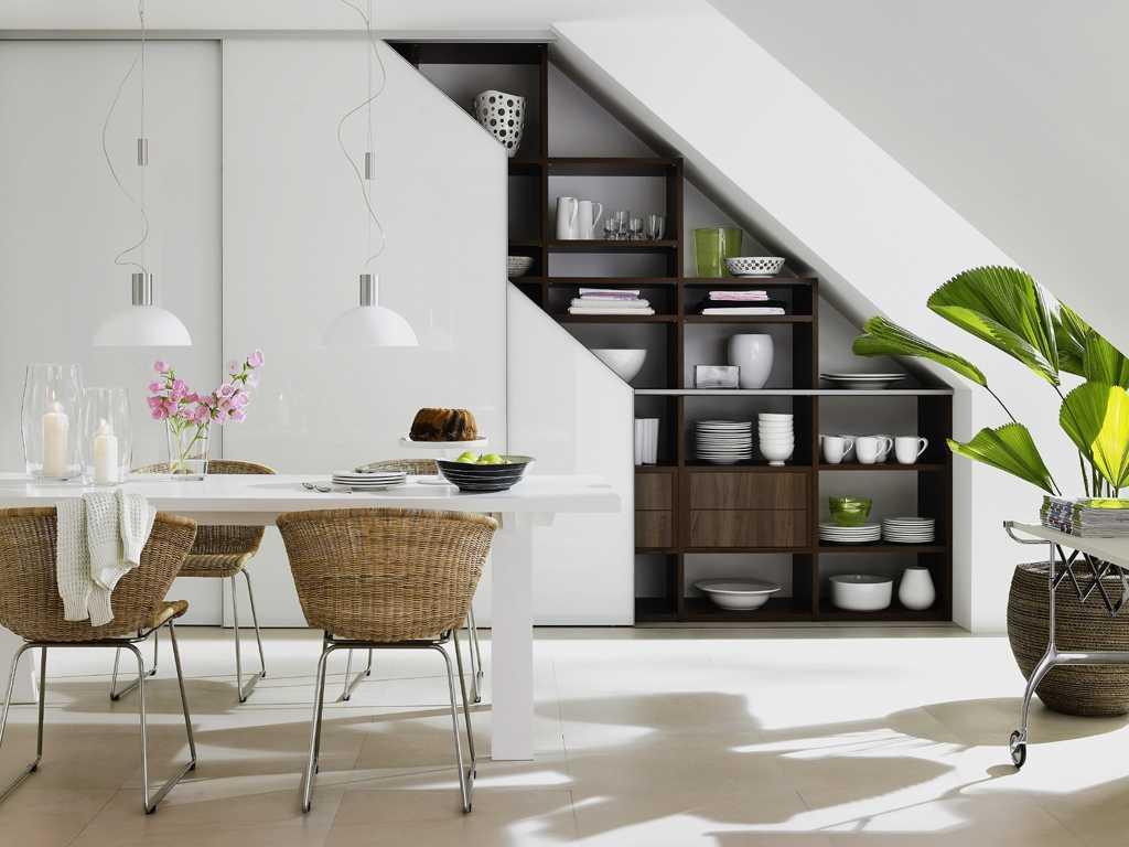 Лестница в доме – прекрасное поле для творчества