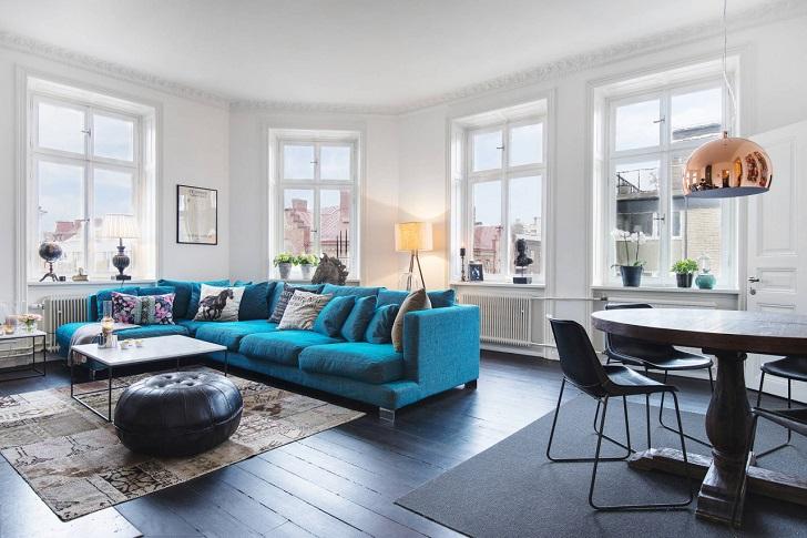 Интерьер в скандинавском стиле отличается простотой, спокойствием, лаконичностью – и при этом обладает особым очарованием и выразительностью