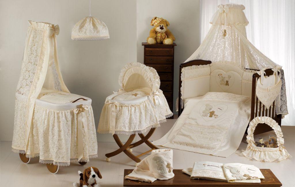 Модели балдахинов для новорожденных