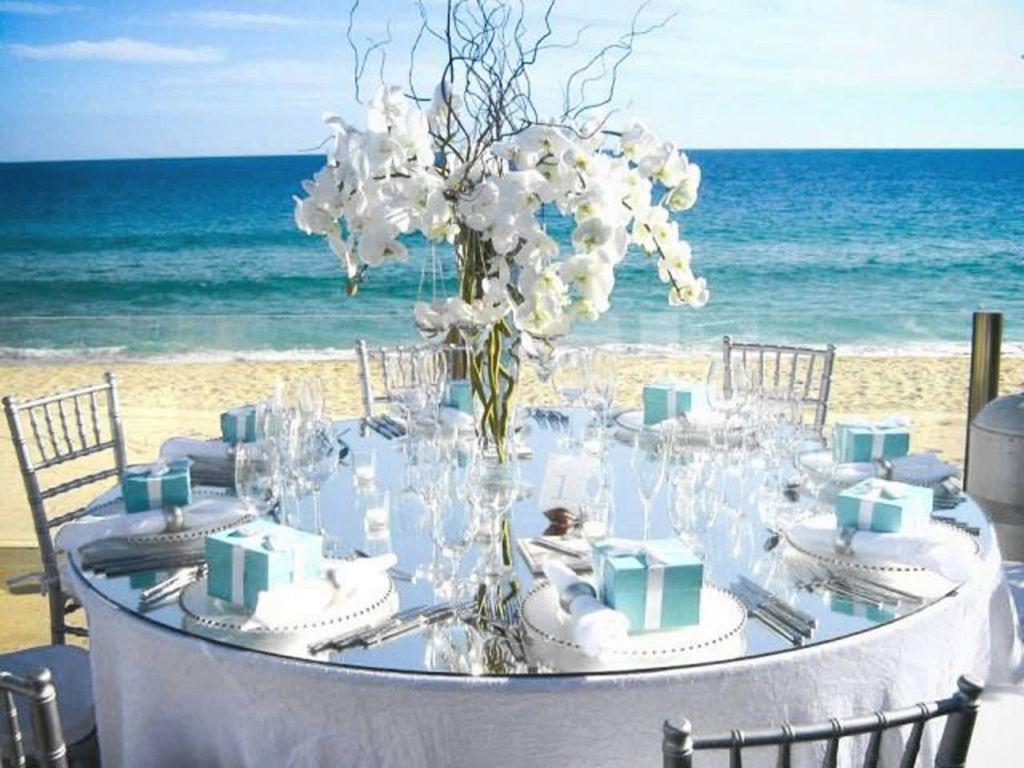 Украшение свадебной церемонии на море