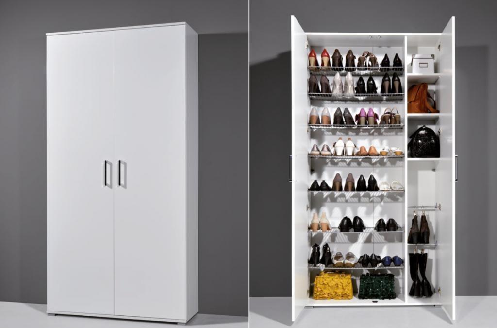 Обычный шкаф для обуви