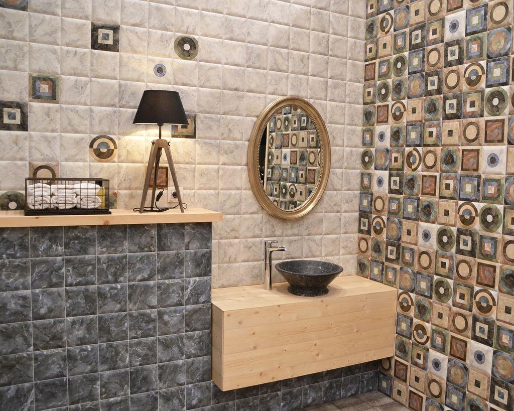 Лампа придаст уюта при нахождении в ванной