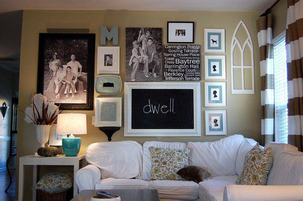 Дизайнеры рекомендуют относиться к украшению стен с размахом