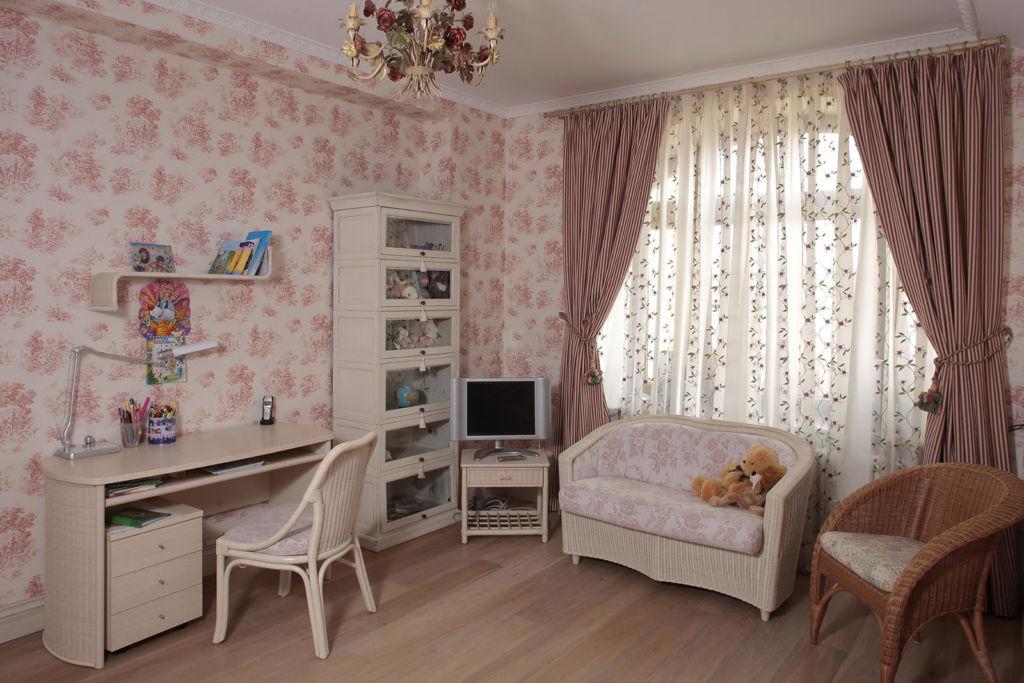 Детская комната в стиле прованс для девочки
