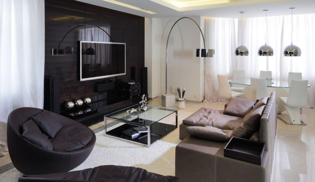 22 идеи дизайна зала для однокомнатной квартиры