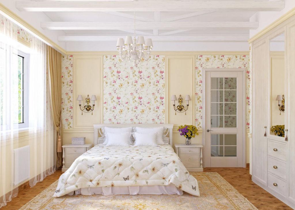 Применив отделочный материал светлых оттенков вы зрительно увеличите комнату