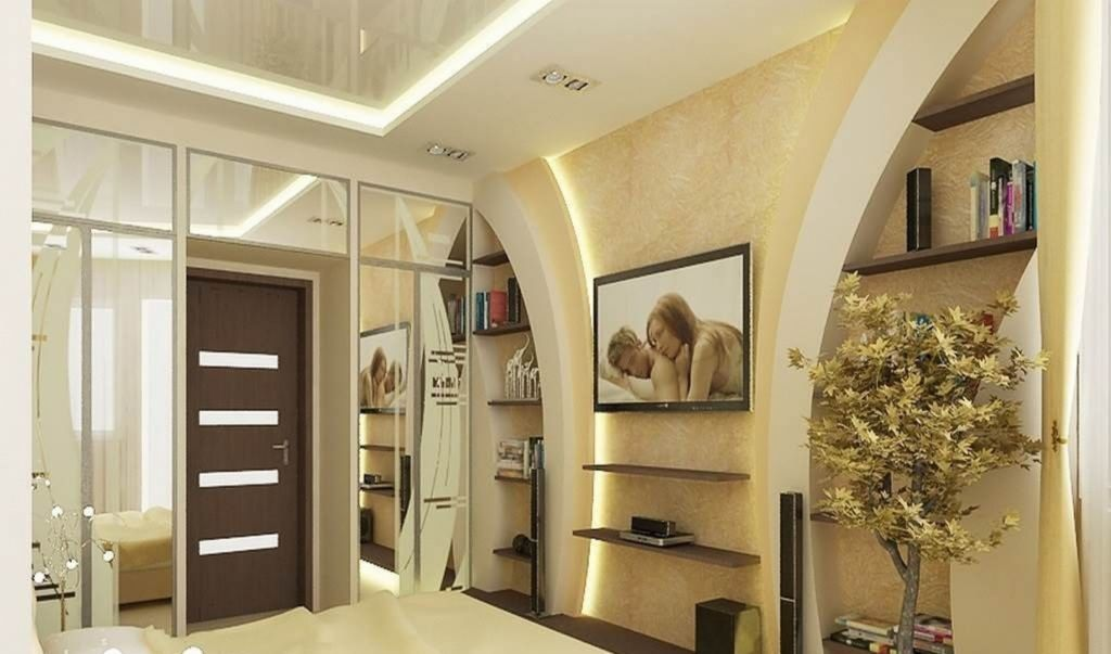 Дизайн стен из гипсокартона: актуальные дизайнерские решения