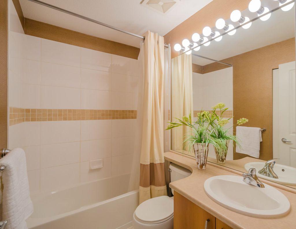 Дополнительное освещение добавит ванной уюта